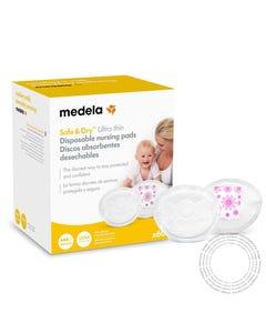 Medela Discos Amamentação Safe&Dry Ultrafinos CX60