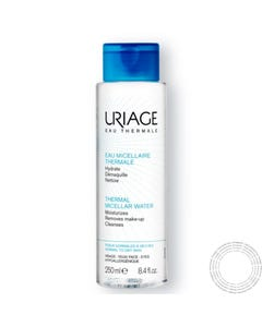 Uriage Agua Desmaquilhante Pele Normal a Seca  250ml