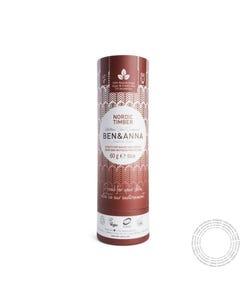 Desodorizante Natural Ben&Anna Madeira Nordic Timber