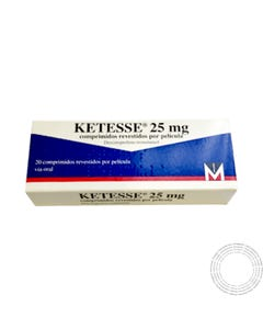 Ketesse (25 mg) 20 comprimidos