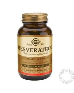 Solgar Resveratrol  60 Caps. Vegetais