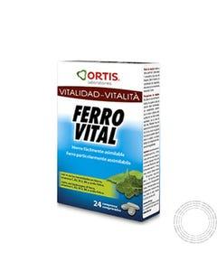 Ortis Ferro Vital 24 Comprimidos