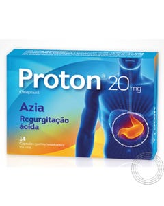 Proton 20 mg 56 Cápsulas Gastro Resistentes