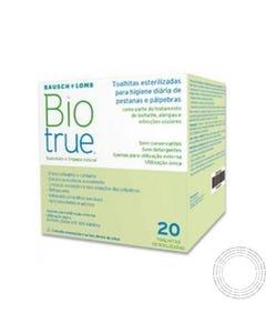 Toalhitas Biotrue Oculares Esterilizadas 20 Unidades