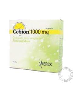 Cebion (1000 mg) 10 saquetas granulado para solução oral