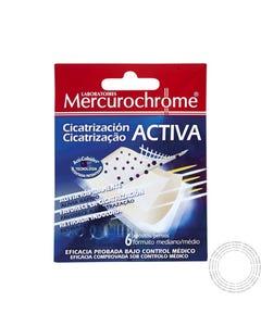 Mercurochrome Pensos Cicatrizantes 7x5CM 6 Unidades