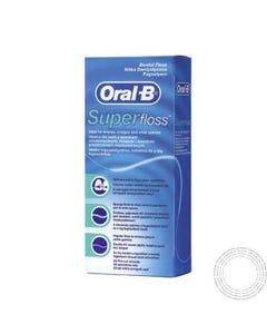 Oral-B Superfloss Fio Dentário 50 unidades