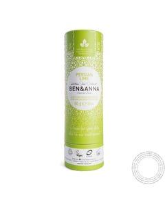 Desodorizante Natural Ben&Anna Lima Persa 60G
