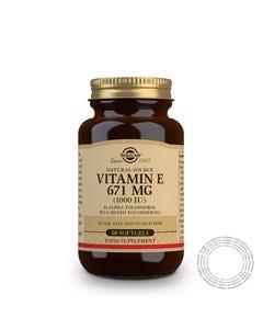 Solgar Vitamina E 1000UI 100 Cápsulas