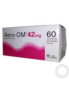 Aero-Om 42mg 100 Comprimidos