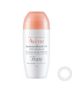 Avene Body Desodorizante 24h Roll-On 50ml