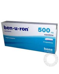 Ben-U-Ron (500mg) 10 Supositórios